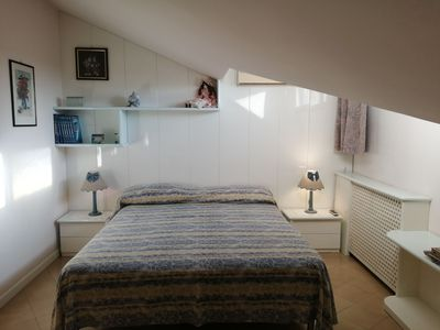 """Photo for Charming Apartment """"Villa Rosita"""" with Sea View, Wi-Fi & Terrace; Parking Available"""