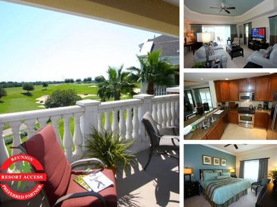 Photo for W224 - 3 Bedroom Reunion Condo With Golf Views