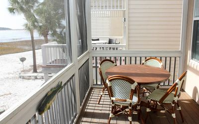 Photo for Pet-friendly home near cabana club with ocean view; free golf cart.