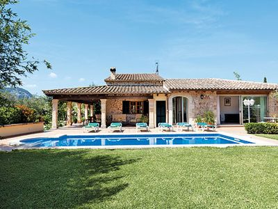 Photo for Stone villa w/pool, garden + built-in BBQ, easy drive to 3 sandy beaches