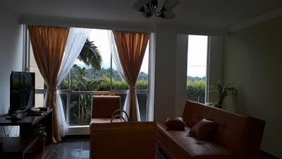Photo for Beautiful  apartment located in the middle of the city,close to everything.