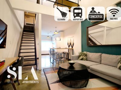 Photo for ★SLA★23. Duplex Suite Loft (Monthly Discount/DDP)
