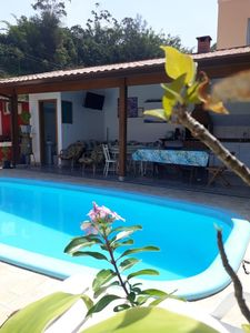 Photo for Rent a suite with swimming pool in Pousada Toninhas beach in Ubatuba SP.