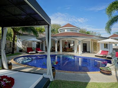 Photo for Luxurious, quiet, private Pool-Villa Lotus, 7/7 housekeeper, 24/7 Butler