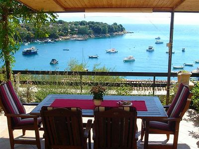 Photo for Holiday house 50 from the sea with barbecue and air conditioning