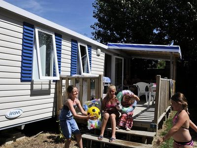 Photo for Camping Bellevue - Domaine Oyat *** - Mobil Home Super Titania 4 Rooms 6/8 People