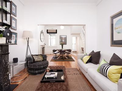 Photo for Beautifully Appointed Historic Terrace House - Short or Long Term Rental