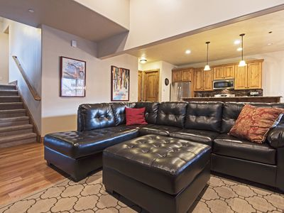 Photo for Luxury Deer Valley Retreat W/ HotTub & Pool Table, 2 min  to Jordanelle  Gondola