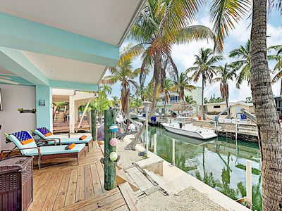 Photo for New Listing! Holiday Haven: Dock, Boat Ramp, 2 Balconies, 2 Blocks to Ocean