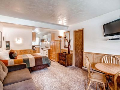 Photo for Centrally Located, Wi-Fi, Outdoor Hot Tubs, Parking for 1 Car, Private Shuttle