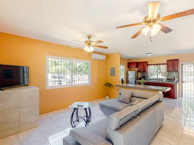 Photo for Spacious, family-friendly apartment in a secluded area - 1 mile to beach/town!
