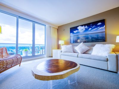 Photo for New 5 Star Ultra Luxurious Beachfront Hotel 1 Bed/ 1.5 Bath Condo