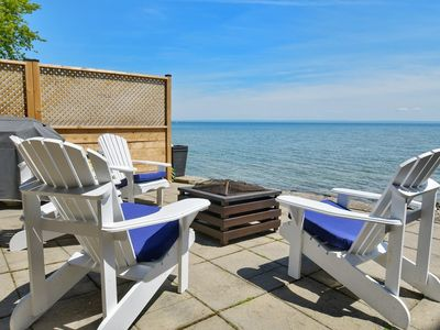 Photo for Crystal Beach Direct Waterfront Cottage
