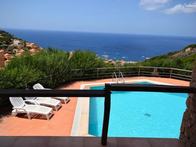 Photo for Casa Rosa Sei: seaview and pool - PROFESSIONAL DISINFECTION