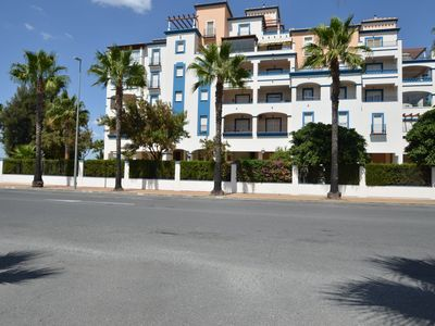 Photo for Isla del Moral Apartment, Sleeps 3 with Pool, Air Con and WiFi