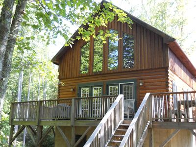 Photo for 'Graysland' Cabin at the Falls