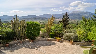 Photo for Beautiful house in the heart of Mallorca with magnificent views of the Tramontana