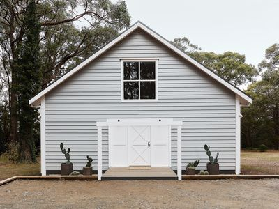 Photo for The Red Hill Barn is a boutique accommodation nestled within the gum trees.