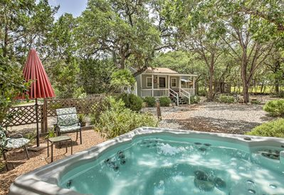 Relax in the hot tub or make your way to Canyon Lake for some fun in the sun!