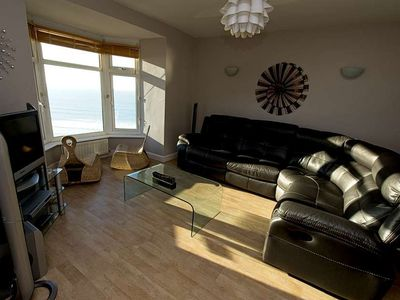 Photo for Fabulous 3 bed apartment with amazing seaviews and balcony