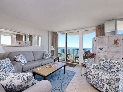 Photo for !Perfect 4 Families! *Serenity by the Sea* Direct Oceanfront, 14th FL Corner Uni