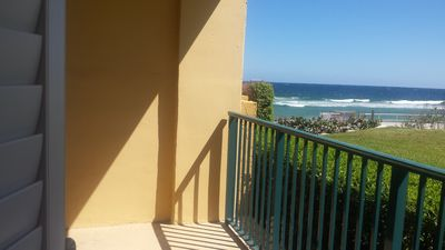 Photo for Wonderful location right on the beach! Walking distance to restaurants.