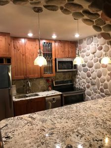 Photo for Streamside River Rock remodel