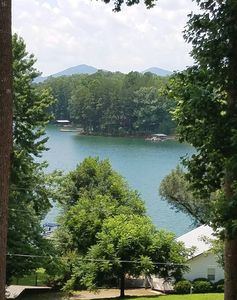 ENJOY The Lake Chatuge Views from The Rocking Chair Front Porch.