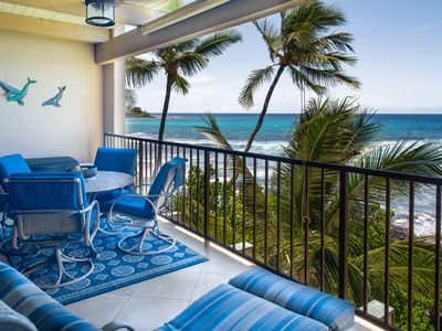 Photo for Absolute Oceanfront! Beautiful condo. Well equipped