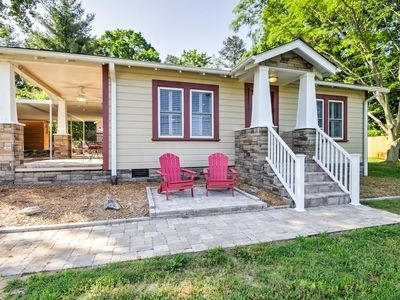 Photo for Remodeled Swannanoa Cottage w/Sauna, Yard&Fire Pit