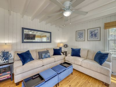 Photo for Central home w/ 3 living spaces & decks - in the heart of Ocean Bay Park!