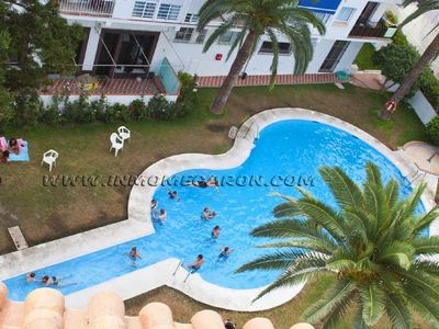 Photo for Studio with sea views and pool