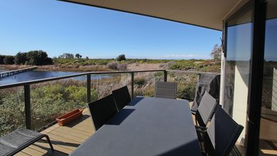 Photo for MOORHEN COVE 3: 3/15 Wallaga Lake Road- Spacious, luxury townhouse with views