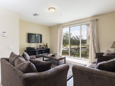 Photo for Disney On Budget - Vista Cay Resort - Amazing Cozy 3 Beds 3.5 Baths Townhome - 7 Miles To Disney