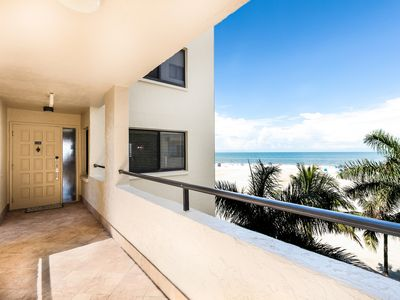 Photo for Beachfront, Mediterranean-Inspired Condo on Ft. Myers Beach