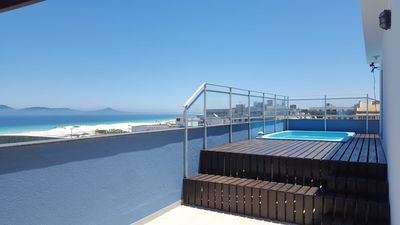 Photo for DUPLEX COVERAGE WITH SWIMMING POOL AND SEA VIEW
