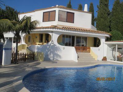 Photo for HOUSE 8 PEOPLE WITH VIEW OF THE SEA, PRIVATE SWIMMING POOL