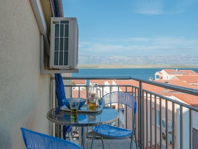 Photo for Studio apartment for 2 persons | with sea view | just 70 m from beach
