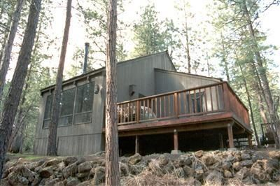 Nestled in the pines with a view of beautiful Aspen Lake