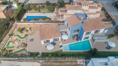 Photo for Villa with sea views with pool and mini golf, Llucmajor, Palma de Mallorca