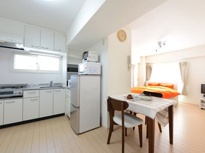 Photo for Lovely studio with a kitchen close to JR train Station.