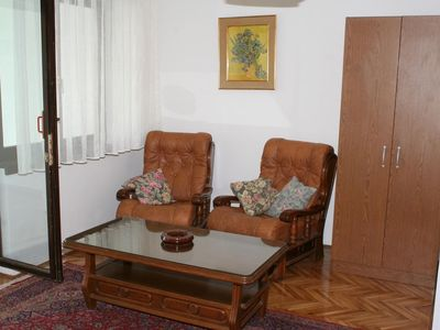Photo for Studio flat with air-conditioning Nemira, Omiš (AS-2828-c)