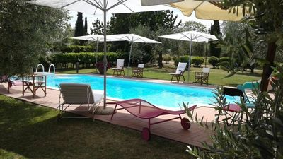 Photo for Vignanello - Country House with private swimming pool, just an hour from Rome