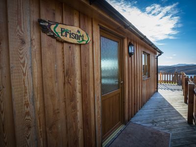 Photo for Self catering holiday chalet Erisort