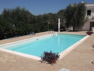 Photo for Studio 40 meters, with services. Pool by 4x9. Max 5 people, families