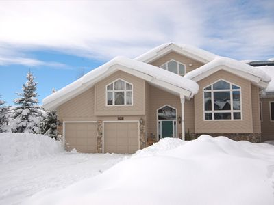 Photo for HEART by Pioneer Ridge: Large home ~ Private Hot Tub ~ Near Summer Activities ~ A/C