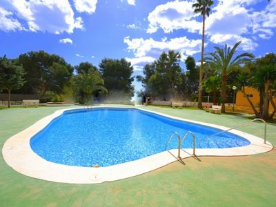 Photo for COSTA BLANCA, SPACIOUS 3 BEDROOM APARTMENT AT THE SEASIDE WITH A/C, FREE WIFI