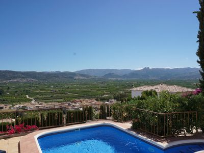 Photo for Villa for 4 people with views, private pool, barbecue and parking