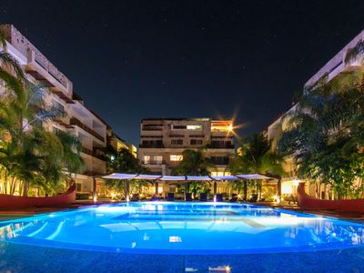 Photo for VERY BIG * MAMITAS BEACH AREA * GYM *JACUZZI * UP 10 PEOPLE * FREE INTERNET