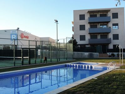 Photo for AT235 MARINA: Modern ground floor apartment 300 meters from the beach